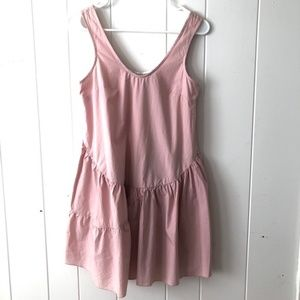 Holding Horses Pink Cotton Dress - Anthropologie
